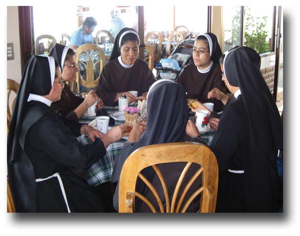 Easter-nuns