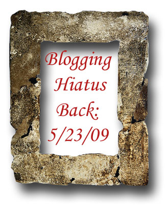Blogging-hiatus