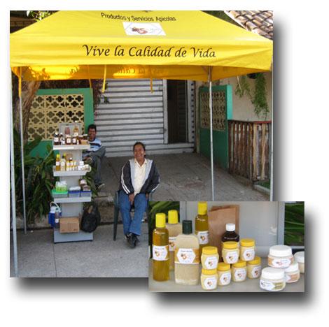 Senora-Maria-beekeeper